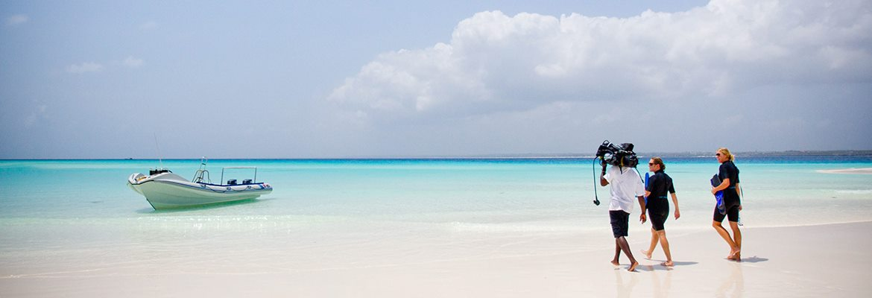 Snorkeling to Mnemba Atoll